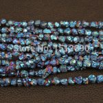 5-8mm Blue Titanium Quartz Drilled Chips Beads,Raw Crystals Rough Quartz Rubble Loose Beads Nuggets <b>Jewelry</b> <b>Supplies</b>