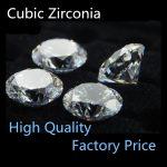 Wholesale White 2.0mm 1000PCS/PCAK AA-AAAAA Round Cubic Zirconia Stone Beads DIY <b>Jewelry</b> <b>Supplies</b> Free Shipping