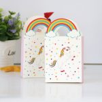 50Pcs/Set Candy Bag Paper Bags Recyclable <b>Jewelry</b> Food Bread Shopping Party Bags Birthday Party <b>Supplies</b>