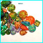 Taidian Opal Effect flatback Sew on Rhinestone Resin Cabochons For <b>native</b> <b>American</b> Powwow <b>Jewelry</b> Making send randomly