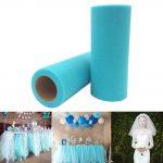 Colorful Gauze Organza Tulle Rolls Tutu Skirt Birthday Wedding Party <b>Supply</b> 25 Yards 6 inch New Year Party <b>Supplies</b> Gauze