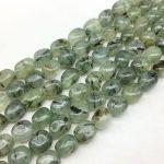 AA Quality Natural Green Hair Quartz Stone Beads Smooth Egg Oval Spacer 10-14 mm DIY <b>Jewelry</b> Making <b>Supplies</b> Rare Bead