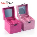 BAKINGCHEF <b>Jewelry</b> Storage Box Square Case Holder Necklace Earring Stand Home Organization ContainerAccessories <b>Supplies</b> Product