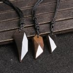 Natural light color ice counter genuine Obsidian men and women lovers Langya pendant <b>jewelry</b> wholesale <b>supply</b> of evil