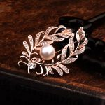 Elegant Brooches Fox/mouth/leaf Zircon Women Wedding/Xmas Party <b>Jewelry</b> Decor Dress Suits Brooch Pin <b>Supplies</b> Accessorise