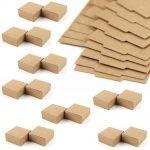 50pc Cardboard Mini Gift Box DIY Craft Paper Box Soap Box <b>Jewelry</b> Packing Box Christmas Wedding Party <b>Supplies</b>