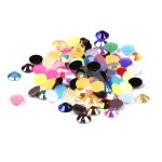 2016 New Resin Rhinestones Mixed AB Colors 2mm-6mm Round Flatback Nail Art Decoration Gems Beads DIY <b>Jewelry</b> Making <b>Supplies</b>