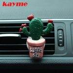 Kayme Cactus car perfume car with the mouth perfume perfume car perfume air conditioning outlet decorative car <b>jewelry</b> <b>supplies</b>