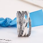 <b>Rings</b> Compatible with European Jewelry Newest <b>Silver</b> <b>Ring</b> with CZ Authentic 925 <b>Sterling</b> <b>Silver</b> <b>Ring</b> Free Shipping R08028