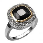 Hot Sale Black onyx 925 <b>Sterling</b> <b>Silver</b> High Quantity <b>Ring</b> For Women Classic Fashion Jewelry Party Gift Size 6 7 8 9 10 F1459
