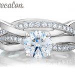 Vecalon 2016 fashion Engagement wedding <b>ring</b> Set for women 1ct AAAAA Zircon Cz 925 <b>Sterling</b> <b>Silver</b> Female Band <b>ring</b> R200
