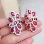 GLY 925 <b>sterling</b> <b>silver</b> with natural ruby <b>ring</b>
