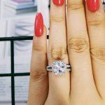 Fashion 925 <b>Sterling</b> <b>Silver</b> engagement wedding promise <b>Ring</b> for Women pink blue fashion finger original design Jewelry R1507