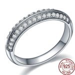 Aceworks Round Cubic Zircon 925 <b>Sterling</b> <b>Silver</b> Luxury Design <b>Rings</b> Women Wedding Best Friendship Gift Fine Jewelry Wholesale