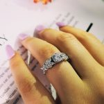 Moonso 2018 latest instagram design 925 <b>sterling</b> <b>silver</b> fashion engagement promise <b>ring</b> for women finger jewelry R4321S