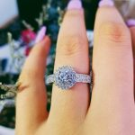 Moonso SoLove Real 925 <b>Sterling</b> <b>Silver</b> CZ Stone Engagement <b>Ring</b> anel for Women Wedding Round Elegant and Graceful LR783S