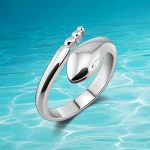 Fashion Genuine Solid 925 <b>Sterling</b> <b>Silver</b> <b>Rings</b>.Snake <b>Ring</b> Size Adjustable. Women <b>ring</b> opening