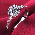 Luxury Genuine S925 <b>Sterling</b> <b>Silver</b> Wedding <b>Ring</b> Inlaid AAA Zircon Fine Women 2017 European Jewelry.Feminino Anel.Top Quality