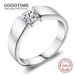 Men's <b>Sterling</b> <b>Silver</b> Jewelry Fashion <b>Rings</b> 100% 925 <b>Sterling</b> <b>Silver</b> <b>Ring</b> Set 1 Carat SONA Zirconia Engagement <b>Ring</b> GTR016