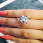 Original Cushion Cut Real 925 <b>Sterling</b> <b>Silver</b> <b>Ring</b> Finger for Women Jewelry Luxury Wedding Engagement Original R1953
