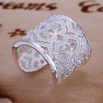 R106 925 <b>sterling</b> <b>silver</b> small heart with stone wide <b>Ring</b> for Women Men Gift <b>Silver</b> Jewelry Finger <b>Ring</b>
