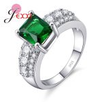 JEXXI Simple Fashion 925 <b>Sterling</b> <b>Silver</b> Women <b>Rings</b> For Wedding Engagement Jewelry Finger <b>Rings</b> Bijoux Femme