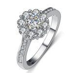 2017 New arrival Super shiny CZ zircon Valentines Gift 925 <b>sterling</b> <b>silver</b> women wedding finger <b>ring</b> ladies`<b>rings</b> HOT