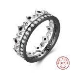925 <b>Sterling</b> <b>Silver</b> Stackable Freedom Light Zircon Geometric <b>Silver</b> <b>Ring</b> Wedding <b>Ring</b> Jewelry <b>Rings</b> For Women