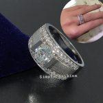 choucong Brand Jewelry Solitaire Men <b>ring</b> 2ct AAAAA zircon cz 925 <b>Sterling</b> <b>silver</b> <b>ring</b> Engagement Wedding Band <b>Ring</b> for Men