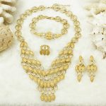 2017 Liffly Creative New Sexy Bridal Beautiful Gold Leaves <b>Jewelry</b> Set Fashion New Listing Gold Crystal Fine <b>Accessories</b> Sets