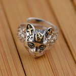 S925 sterling silver ring <b>antique</b> crafts <b>jewelry</b> lovers Maotou a generation of explosion