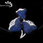 Queen Lotus New Luxury Rose Flower Brooches for Women Fashion <b>Jewelry</b> AAA Zircon Brooch and Pins For Gift Garment <b>Accessories</b>