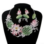 New Gorgeous Crystal <b>jewelry</b> sets Bridal wedding necklace earrings set Women Flower style For bridesmaid <b>Jewelry</b> <b>Accessories</b>