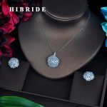 HIBRIDE New Design Top Quality Full AAA Cubic Zirconia <b>Jewelry</b> Sets Earring Set Wedding <b>Accessories</b> Gifts Wholesale Price N-510