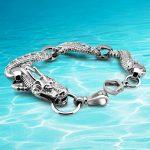 New arrival!!! ethnic wind dragon charm men's silver bracelet ,925 Thai silver dragon bracelet for men <b>jewelry</b> <b>accessories</b>