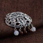 Deer King <b>jewelry</b> wholesale Sterling Silver Pendant Silver tassel S925 <b>antique</b> craft to send new friends
