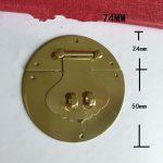 Brass <b>Antique</b> Chinese Furniture Hardware Handle Lock Hasp <b>Jewelry</b> Wooden Box Locking Buckle Lock Furniture,74mm,1Set