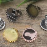 50pcs Cabochon 25mm Crown pad ring blank with Cameo Tray,<b>Antique</b> Bronze/Gold/Silver Ring setting,Handmade Zakka <b>jewelry</b> Finding