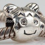 1PCS/lot European 925 <b>Antique</b> Sterling Silver Charm Girl Beads fit DIY Bracelets <b>Jewelry</b>