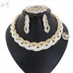 YULAILI Fashion Cubic Zirconia Necklace <b>Jewelry</b> Set High Quality Zircon Stone Women Wedding Party <b>Accessories</b>