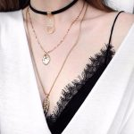 eManco Wholesale Fashion Mash Up Multi-layer Necklaces for Women Metal Long Pendants Necklace Charm Torques <b>Accessories</b> <b>Jewelry</b>