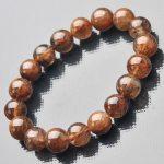 JoursNeige Natural Blonde Titanium Crystal Bracelets Beads <b>Jewelry</b> <b>Accessories</b> Copper Rutilated Women Men Bracelets