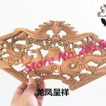 Dongyang wood carving Pendant camphor wood crafts <b>antique</b> <b>jewelry</b> ornaments hanging fan Home Furnishing 20*40 small fan #3307