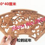 Dongyang wood carving Pendant camphor wood crafts <b>antique</b> <b>jewelry</b> ornaments hanging fan Home Furnishing 20*40 small fan #3302