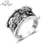 Mytys <b>Antique</b> Ring for Women Retro Style Vintage Rings New Design Cocktail Party <b>Jewelry</b> Accessory R1996