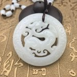 Selling <b>Jewelry</b>>>> Afghan Jades <b>Antique</b> Dragon Jadea Pendant White Jades Dragon Pendant Men and Women Necklace