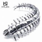 Ukraine Fashion <b>Jewelry</b> Kalen Rock Stainless Steel Centipede Charm Bracelet Bangle For Men Cool Punk Animal <b>Accessories</b> <b>Jewelry</b>