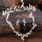 Handmade Pearl Vintage Wedding Bridal <b>Jewelry</b> Sets Women Party Decorations Bride Tiara Necklace Earring <b>Jewelry</b> Set <b>Accessories</b>