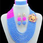 NEW Bridal <b>jewelry</b> sets nigerian wedding african beads <b>jewelry</b> set crystal <b>jewelry</b> wedding <b>accessories</b> party