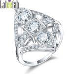 Lateefah Luxury Trendy <b>Jewelry</b> Rings for Women Wedding Gorgeous Cubic Zirconia Female Engagement Ring <b>Art</b> <b>Deco</b> Ring Anel Bague